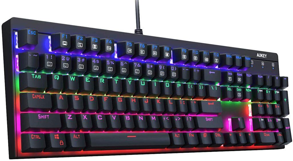 AUKEY LED Backlit Gaming Keyboard