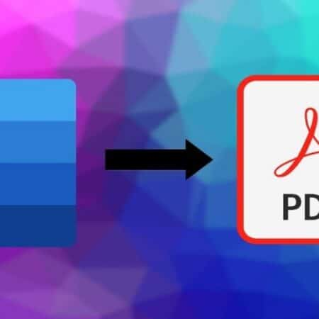 Converting from Word to PDF