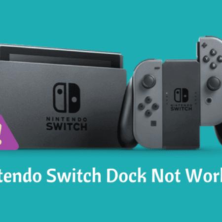 Fix Nintendo Switch Dock not Working