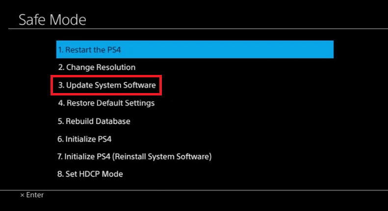 Update PS4 Manually