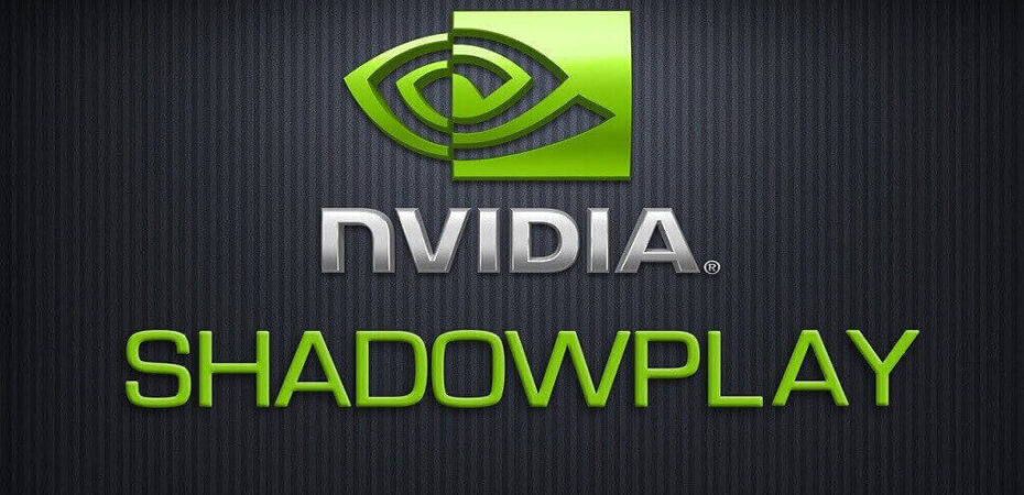 Shadowplay Not Recording
