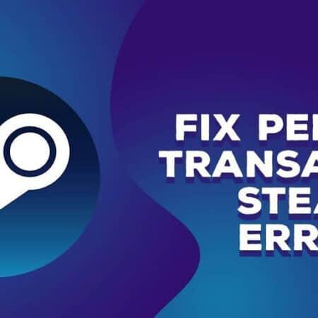 steam pending transaction