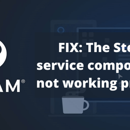 Steam service component is not working properly