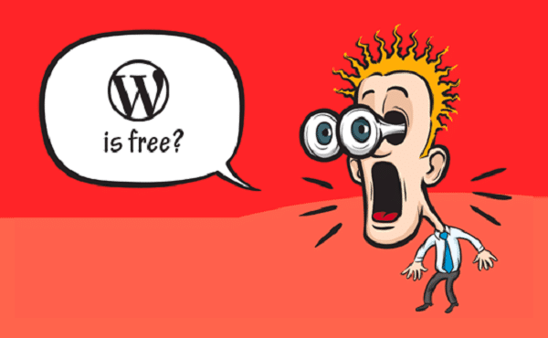WordPress Is Free and Open-Source