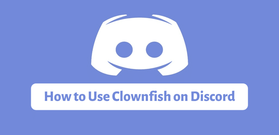 How to Use Clownfish on Discord